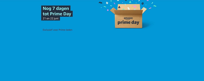 Nog 7 dagen tot Prime Day