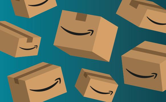 Ontwerp van Amazon.co.uk-cadeaubon