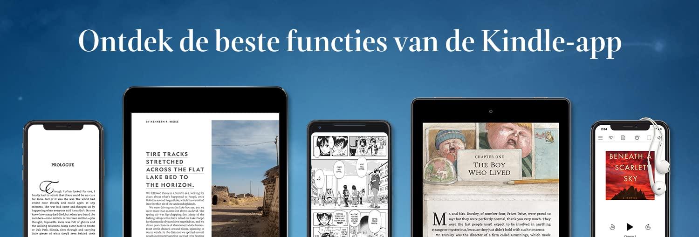 Ontdek de beste functies van de Kindle-app