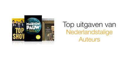 Nieuwe uitgaven van Nederlandse en Vlaamse auteurs