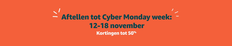 Aftellen tot Cyber Monday week