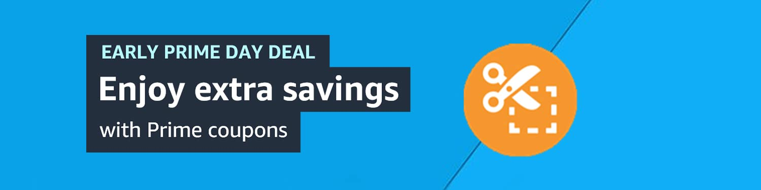 Shop Early Prime Day Coupons