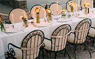 Table & chair rental