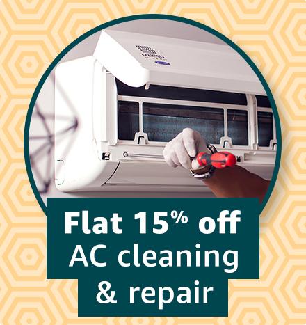 AC cleaning & repair