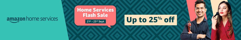 Home services flash sale