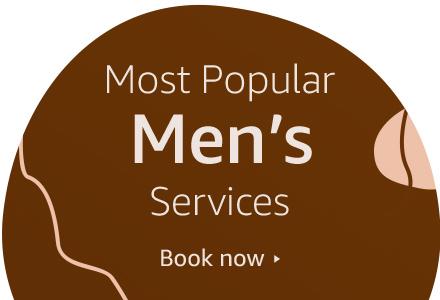 Most popular Men's services