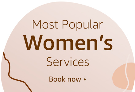 Most popular Women's services