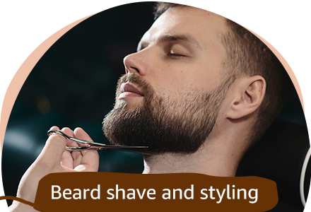 Beard shave and shaving