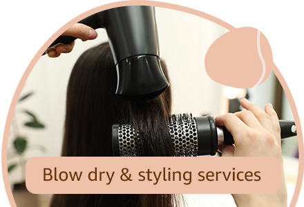 Blow dry & styling services