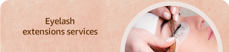 Eyelash extension services