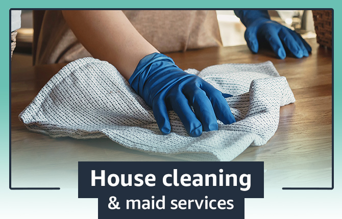 House cleaning and maid services