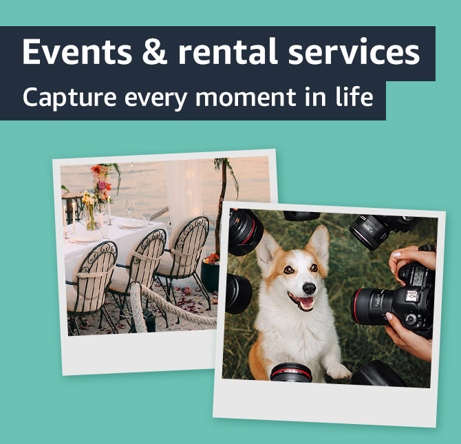 Events and rental services