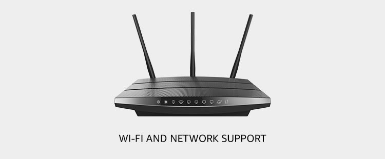 Wi-Fi and Network (Installation and Setup)