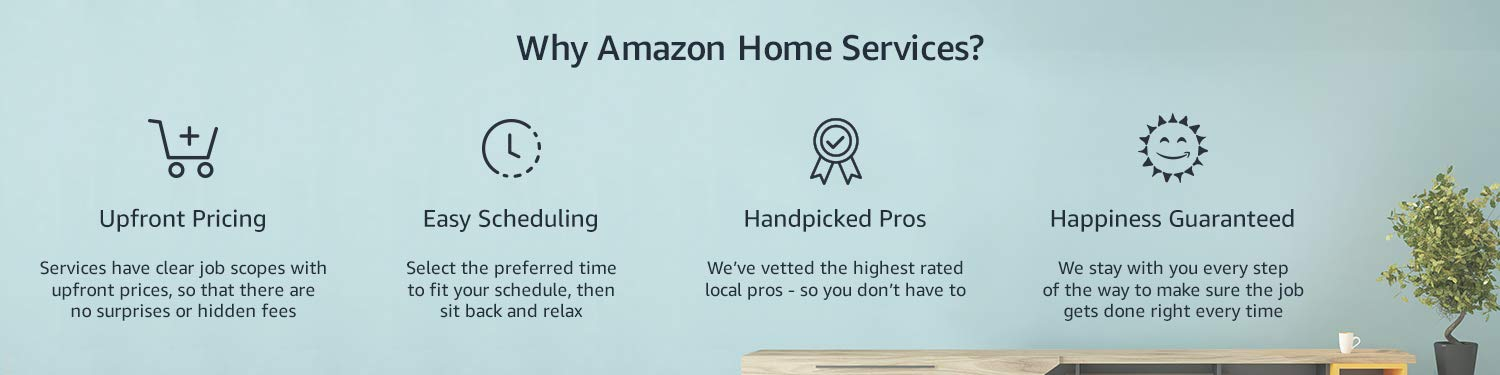 Benefits of Amazon Home Services