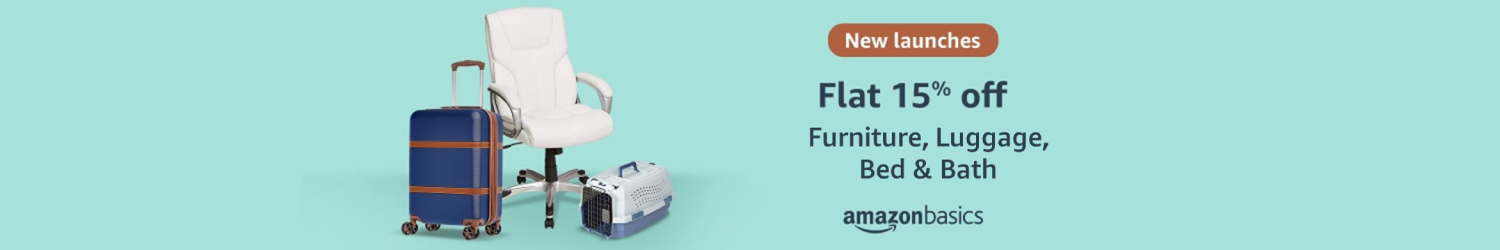 New launch from AmazonBasics