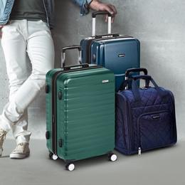 AmazonBasics خصم 10% على كامل التشكيلة| سافر بسهولة مع شنط السفر