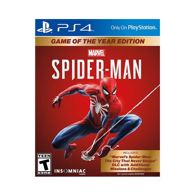 Spiderman GOTY