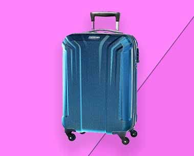 Up to 70% off travel luggage