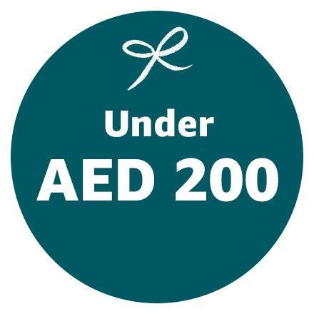 Under AED 200
