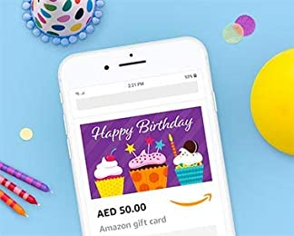 Electronic Gift cards for Birthday