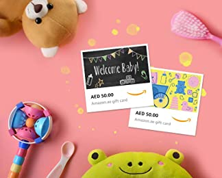 Baby Shower e-Gift Cards