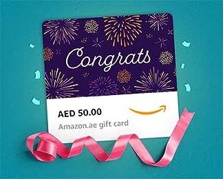 e-Gift Cards to congratulate