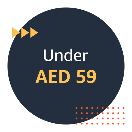Under AED 59
