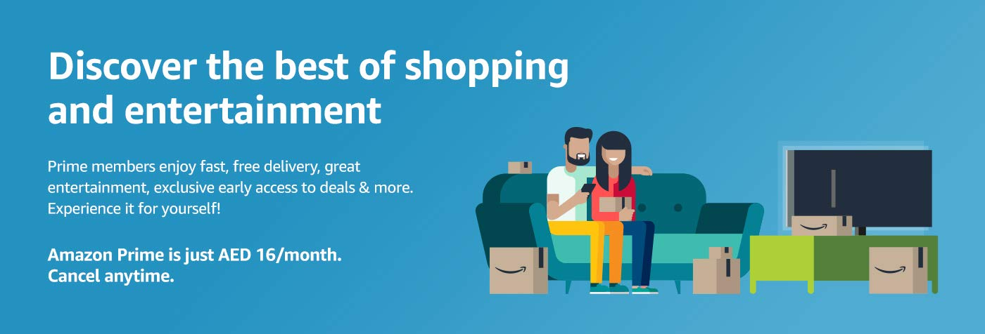 Amazon Prime - Fast and Free Shipping