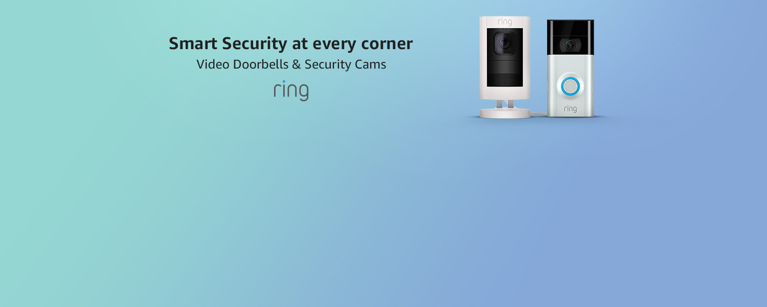 Video Doorbells and Security Cams | Smart Security at every corner.