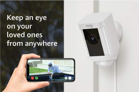 Keep an eye on your loved ones from anywhere