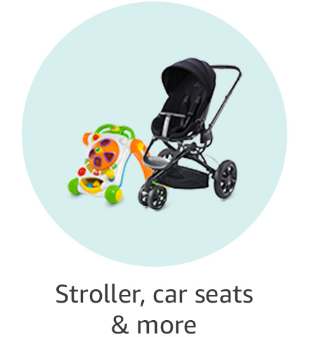 Stroller, car seats & more