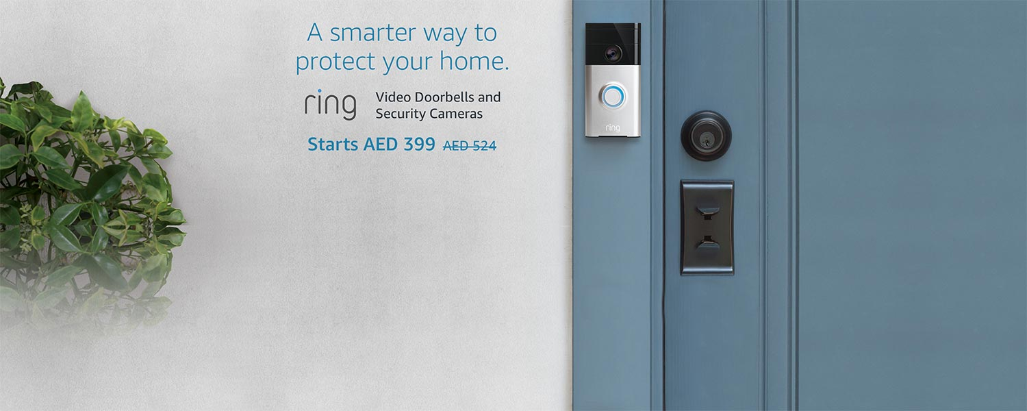 Ring Video Doorbells and Security Cameras, A smarter way to protect your home