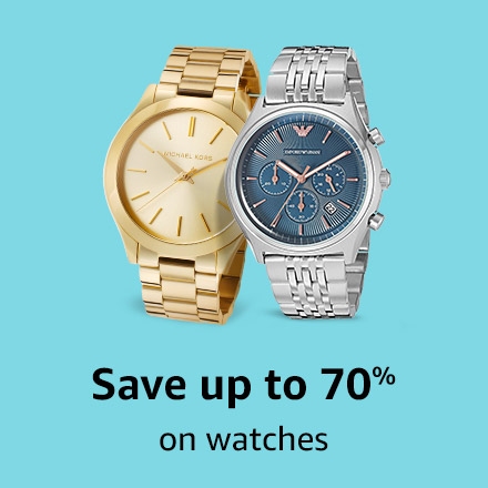 Save up to 70% on watches
