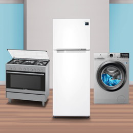 Big savings on home appliances