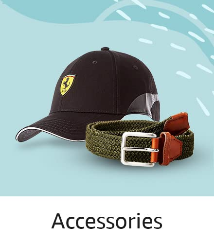 Accessories (Belts, socks, caps)