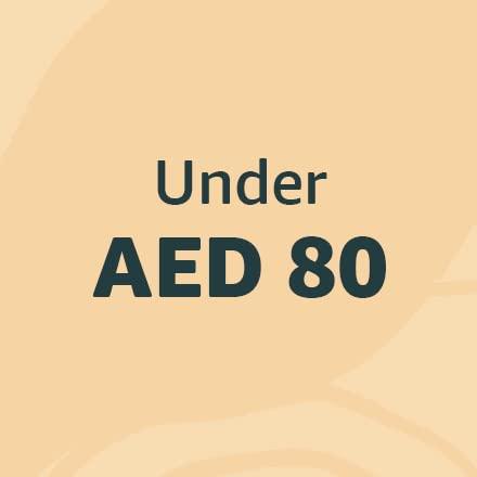 Under AED 80