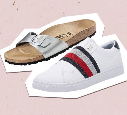 الأحذية والصنادل