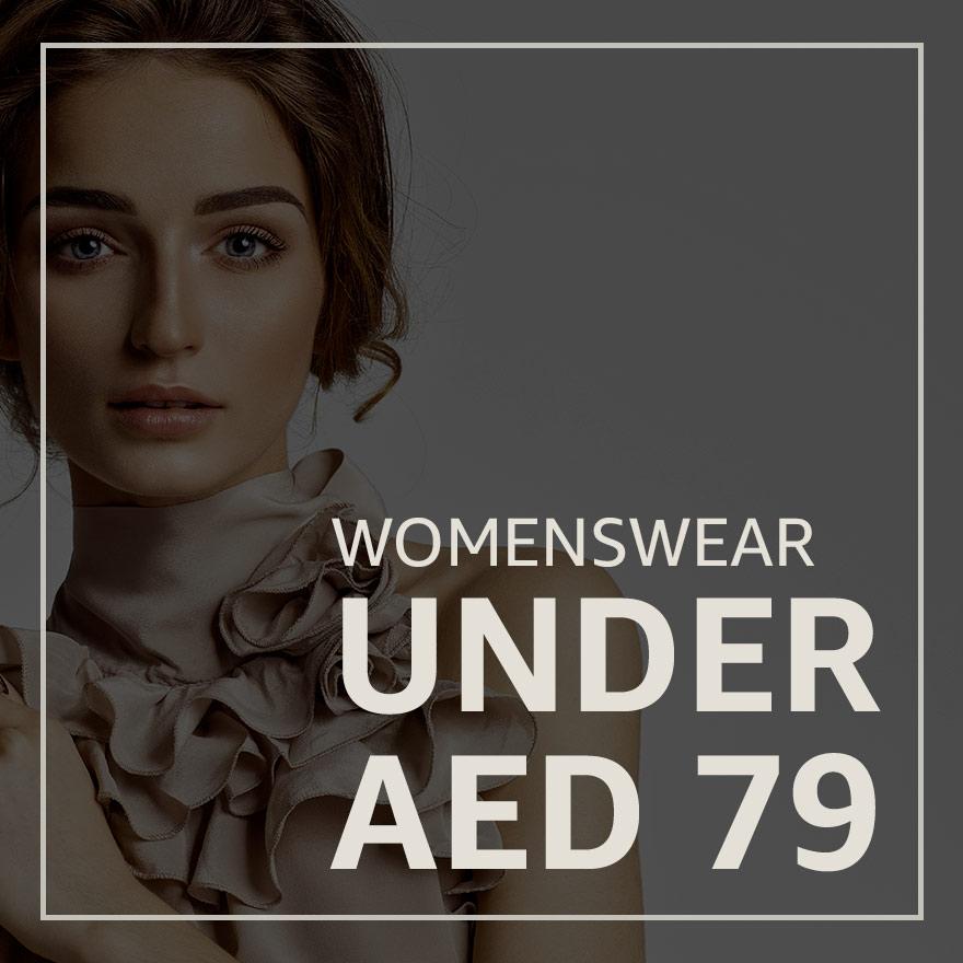 Women's wear under AED 79