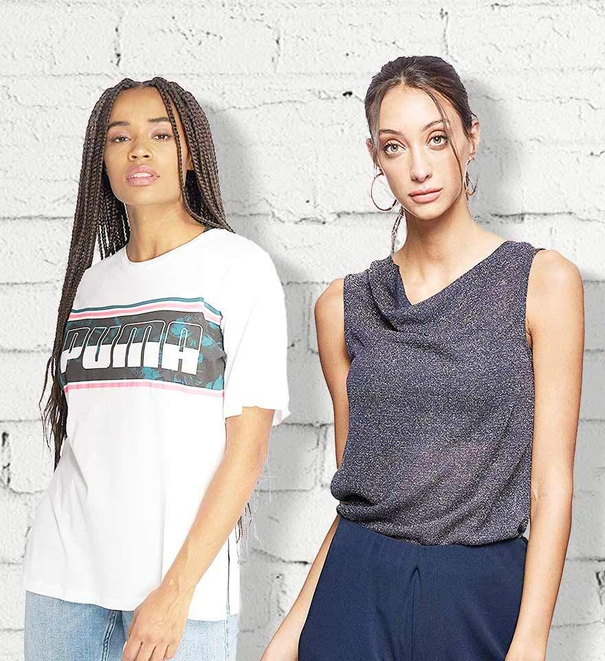 Top tees & blouses