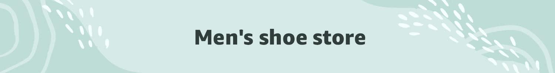 Men shoe store