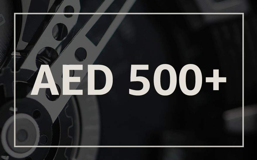 AED 500+