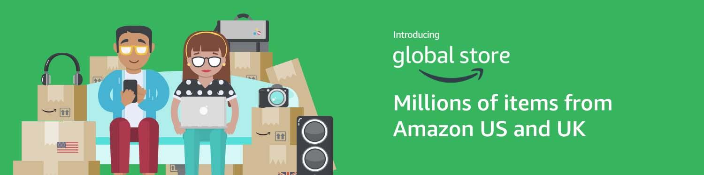 Shop Amazon's worldwide selection
