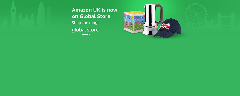 Amazon UK now on Global Store