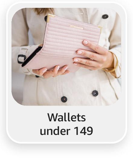 Wallets under 149
