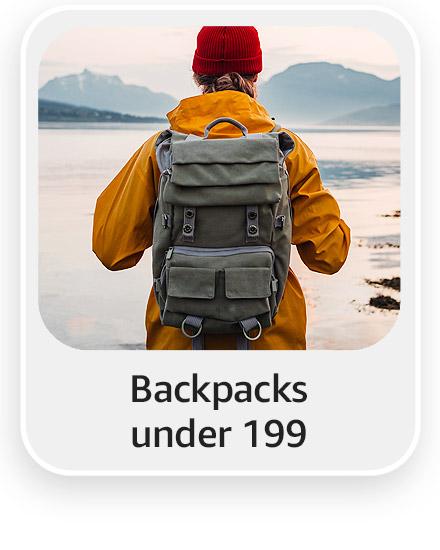 Backpacks under 199