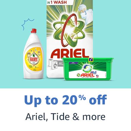 Ariel, Tide & more