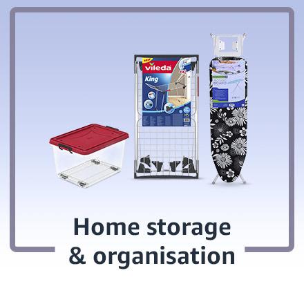 Home storage and organisation