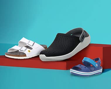 Up to 60% off sandals & slippers