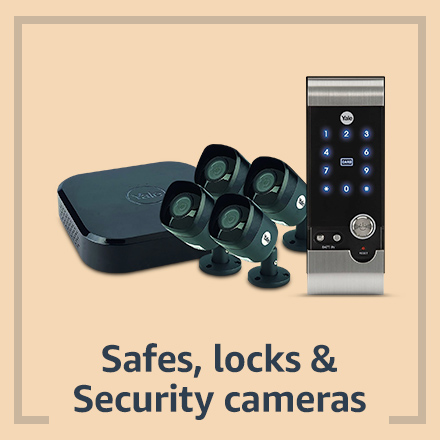 Safes, locks and security cameras