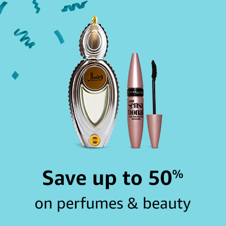Save up to 50% on perfumes & beauty